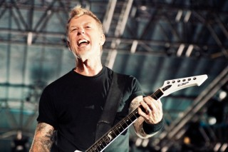 James Hetfield at Rock in India, Bangalore in October 2011